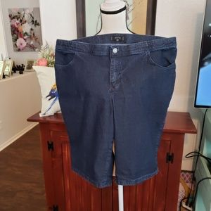 Riders by Lee Blue Jean Shorts size 18W